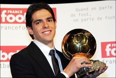 Kaka gagne le Ballon d'Or 2007