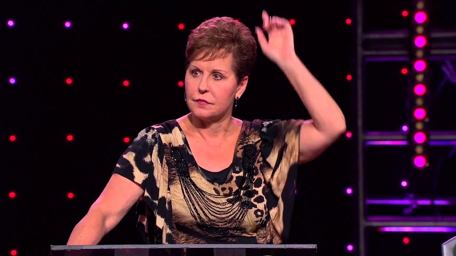 Joyce Meyer – Les obstacles à l'exaucement des prières – partie 1/3